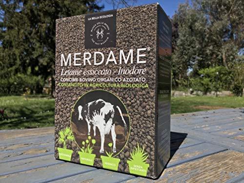 Floriana-Bulbose MERDAME AGT s.s. - 1,5 kg di CONCIME BOVINO Organico AZOTATO per Agricoltura BIO