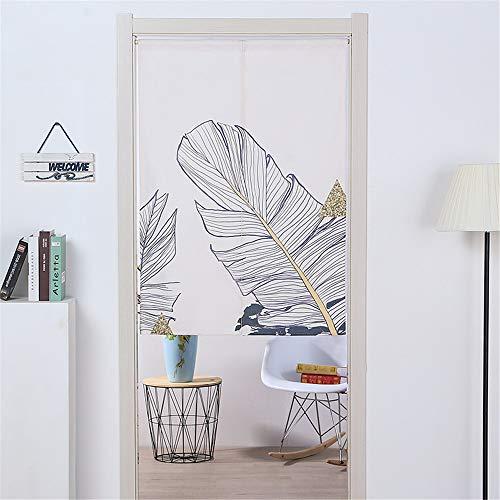 YUNSW Fruchtdruck Leinen Wasserdicht Vorhang Wohnzimmer Schlafzimmer Partition Vorhang Küche Bad Veranda Hängenden Vorhang