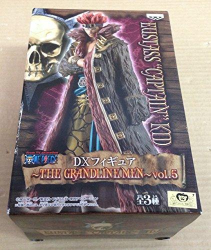 ワンピース DXフィギュア THE GRANDLINE MEN vol.5 ユースタス・キャプテン・キッド 単品