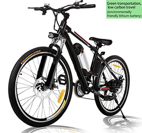 26 inch Electric Bike Mountain E-Bike 21 Speed 36V...