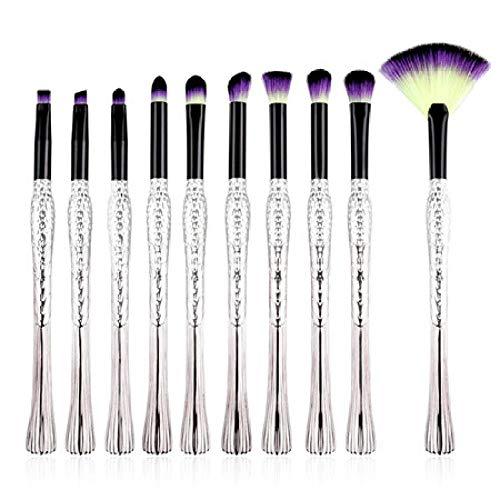 MEISINI Maquillage Pinceaux Kits De Maquillage Pour Les Cheveux Brush Contour Blush Foundation Poudre Fard À Paupières Pinceau Set, F