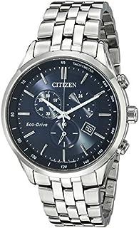 Citizen AT2141-52L reloj de acero inoxidable en tono plateado con brazalete de eslabones para hombre