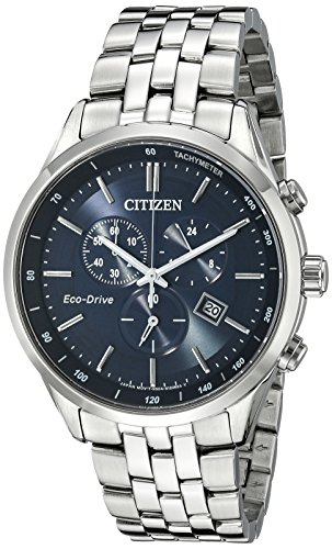 Citizen Men's Eco-Drive Chronograph Stainless Steel Watch - top graduation idea for guys