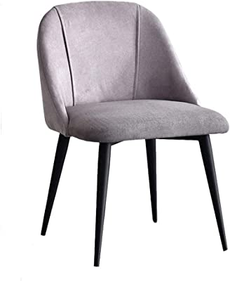Amazon.com: Sillas de comedor Dall Leisure Sillones de metal ...