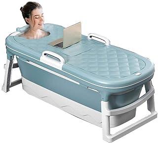Id/éale pour un bain chaud ou glac/é Maintien efficace de la temp/érature Baignoire portable pliable pour salle de bain ou spa familiale Baignoire sur pied pour cabine de douche