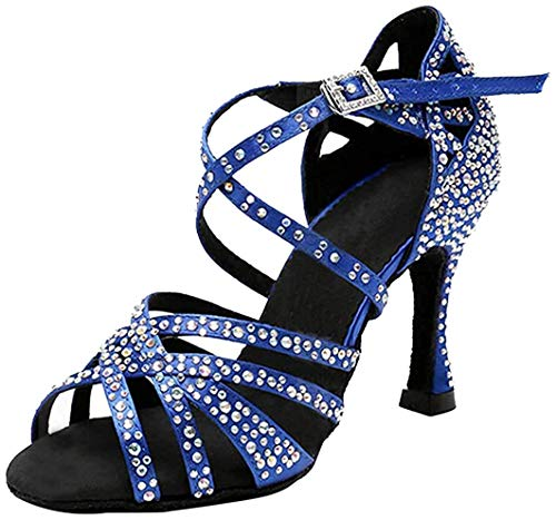 MGM-Joymod , Damen Standard & Latein , Blau - Blue/9cm Heel - Größe: EU 36