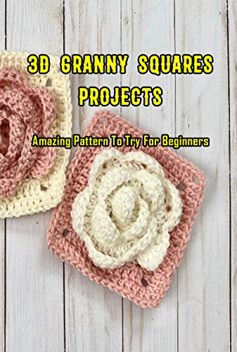 3D Granny Squares Projects: Amazing Pattern To Try For Beginners: Crochet Granny Square Patterns (English Edition)