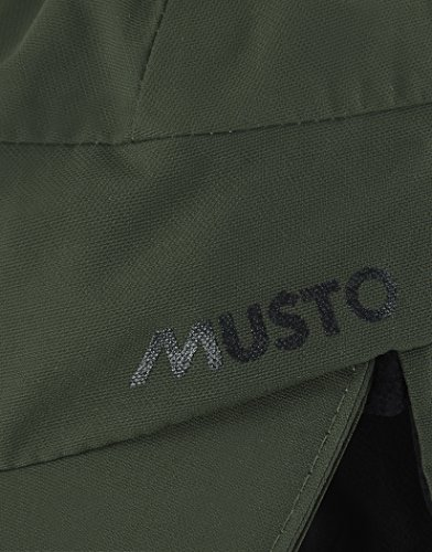 Musto Waterproof Warm Fleece Lined Cap Hat Dark Moss - Breathable
