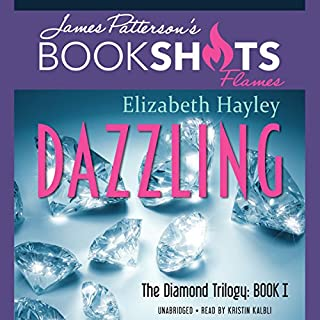 Dazzling audiobook cover art
