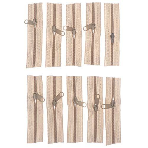 QWERTB Rits 10 Stks Mini Rits Pop Jurk Rits 10 cm Handgemaakte ambacht naaien DIY Accessoires Scrapbooking Garment Applique