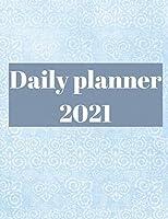 2021 Daily Planner: 12 Month Organizer, Agenda for 365 Days