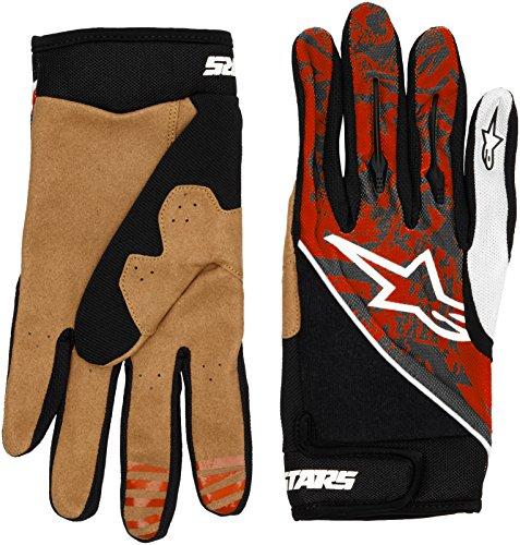 Alpinestars Gravity Glove - Guantes de Ciclismo, Color Blanco/Gris, Talla XXL