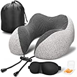 memory foam travel neck pillow travel gifts for her and him