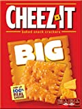 Sunshine Bakeries, Cheez-It, BIG, Cheese Crackers, 11.7 Ounce Box (Pack of 3)