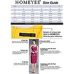 HOMEYEE-Womens-Colorblock-Wear-to-Work-Business-Bodycon-One-Piece-Dress-B550