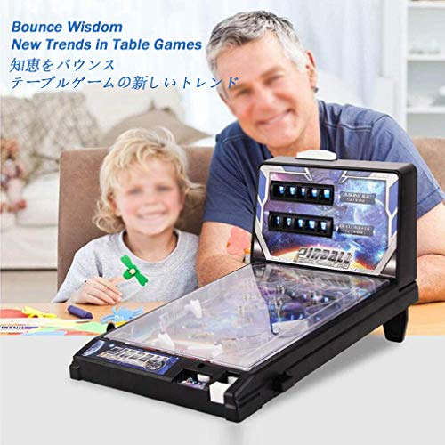 Best Buy! HMM Space Pinball Mini Pinball Toy Children Play Child Puzzle Pinball Machine Pinball Toys...