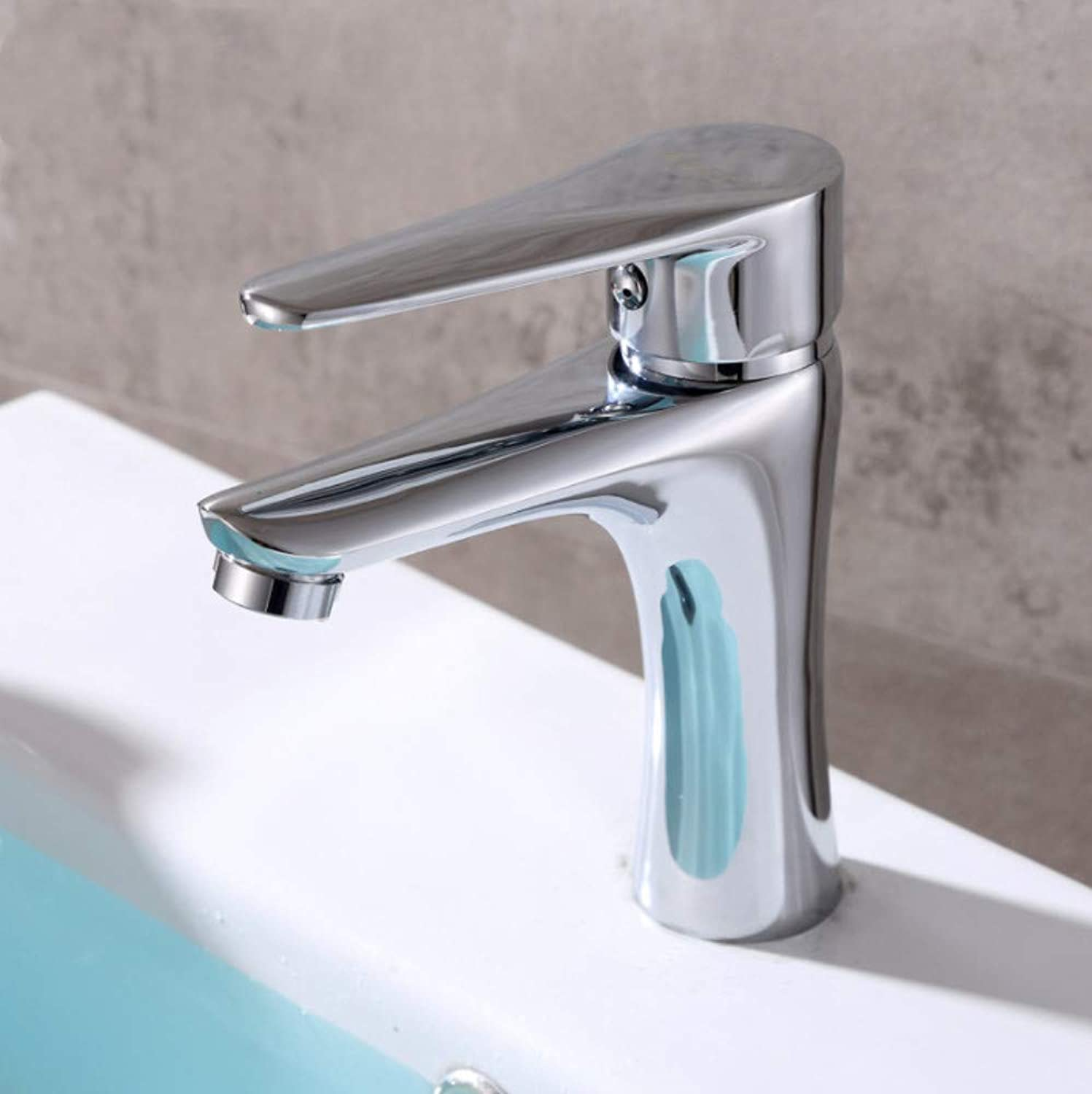 redOOY Taps Bathroom Sink Taps Shower Tapshot And Cold Basin Faucet_Hot And Cold Basin Faucet Single Hole Wash Basin Faucet