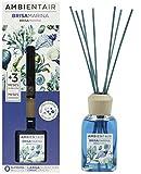 Ambientair. Diffusore di bastoncini profumati all'aroma di brezza marina. Rattan bastone mikado deodorante per ambienti. Deodorante per ambienti senza alcool.