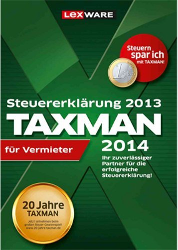 TAXMAN 2014 für Vermieter (für Steuerjahr 2013) [Download]