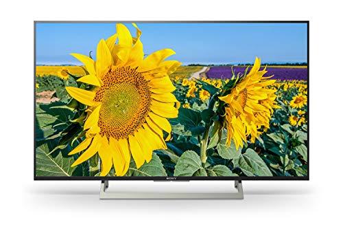Sony KD-55XF8096 139 cm (55 Zoll) Fernseher (4K HDR, Android TV, Ultra HD, Smart TV mit Sprachsteuerung) schwarz