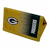 Green Bay Packers Official NFL - Cartera con escudo del equipo y colores degradados (Talla Única) (Amarillo/Negro)