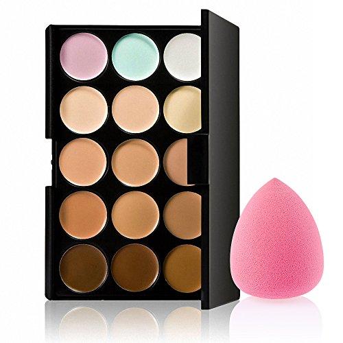 15 Couleurs Correcteur Crème de Camouflage Palette de Maquillage Poudre - # 5
