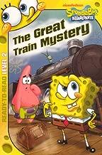 The Great Train Mystery (Turtleback School & Library Binding Edition) (Spongebob Squarepants (Pb))