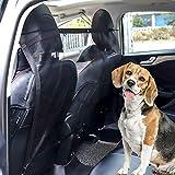 FGF-EU Fgf mesh Pet barriera a rete auto universale veicolo Pet barriera per cani gatti rete di sicurezza con ganci e cinghie 114,3/x 62,2/cm