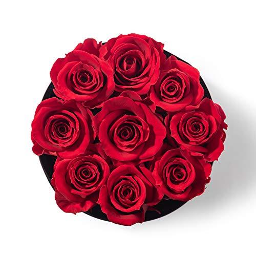 Bellissima Fiore Rosa Roja Preservada | Arreglo Floral | Regalo Origin