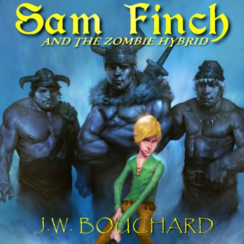 Sam Finch and the Zombie Hybrid audiobook cover art