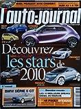 AUTO JOURNAL (L') [No 786] du 24/09/2009 - QUEL PEUGEOT 3008 CHOISIR - AUDI A3 1 6...