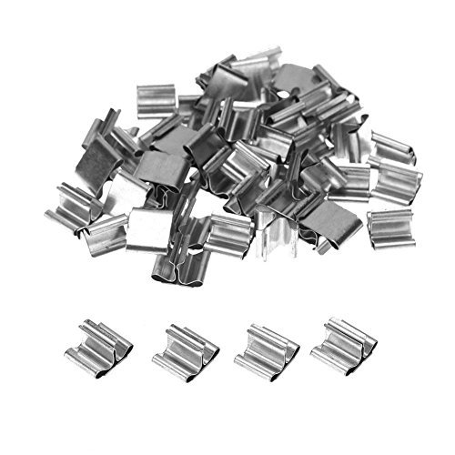 Whitelotous 50pcs Wood Candle Wicks Base Clip for Candle Making Supplies