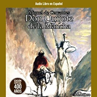Don Quijote de la Mancha [Don Quixote] audiobook cover art