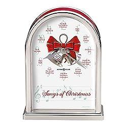 Howard Miller Songs of Christmas Table Clock 645-820 – Holiday Carol Musical Chimes