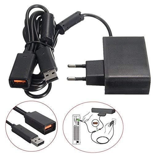 Gamelink Adaptador de corriente de repuesto de cargador de fuente de alimentación Adaptador de CA de cable de alimentación para sensor de Kinect XBOX360