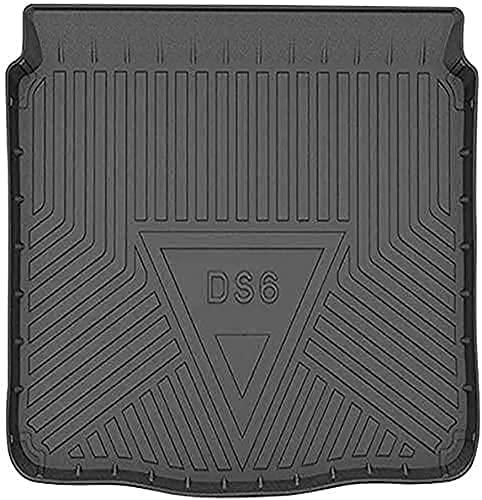 NADAENEA Alfombrilla trasera para maletero de coche, goma para maletero de coche, alfombrilla protectora para maletero de coche, accesorios para Citroen DS6 2014-2019