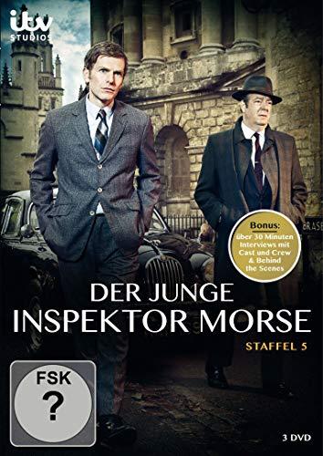 Der Junge Inspektor Morse-Staffel [3 DVDs]