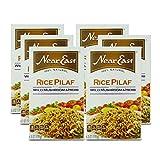 Near East, Arroz Pilau Mix - Seta salvaje instantánea y hierba Pilau - 178 g, paquete de 6