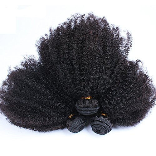 Afro curly hair weave _image1