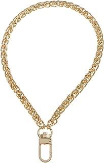 Baoblaze Metal Purse Chain Strap - Wristlet Chain Replacement, Wrist Chain Bag Accessories