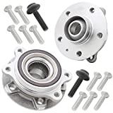[2-Pack] BR930817K FRONT Wheel Hub Bearing Assembly, Premium Pre-Assembled 513301 Compatib...
