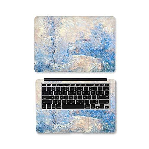 DIY Laptop Skin Oil Painting Laptop Sticker 12/13/14/15/17 inch Laptop for MacBook Dell HP Lenovo etc Laptop Skin Decorat-ZD458-17'