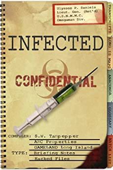 Infected: Hacked Files from the GAMELAND Archive (S. W. Tanpepper's GAMELAND companion title Book 3) by [Saul Tanpepper, Ken J. Howe]