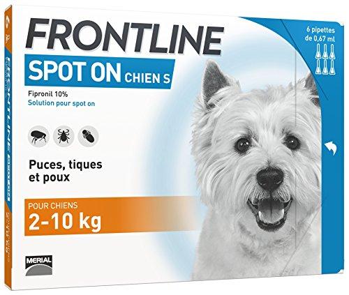 FRONTLINE Spot-on Chien - Anti-puces et anti-tiques...