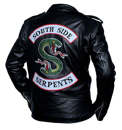 Beste Jacken Southside Schlange Riverdale Jughead Jones Cole Sprouse Echte Lederjacke