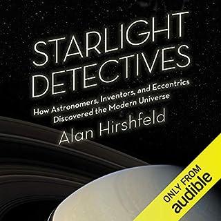 Starlight Detectives audiobook cover art