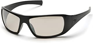 Pyramex SB5680D Goliath Safety Glasses Blk Indoor/Outdoor Mirror Lens (12 Pair)