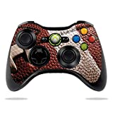 MightySkins Carbon Fiber Skin for Microsoft Xbox 360 Controller - Football | Protective, Durable Textured Carbon Fiber Finish | Easy to Apply, Remove, and Change Styles | Made in The USA