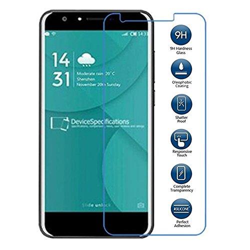 XMT Doogee Y65.5' Protector de pantalla,0.26mm Dureza de Grado 9H Protector de Pantalla de Vidrio Templado Cristal Protector para Doogee Y6Smartphone (1 Pack)