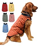 EMUST Dog Vests for Winter, Dog Coat for Cold Weather Warm Dog Jackets for Small Medium Large Dogs, Pet Dogs Apparel for Cold Weather,3XL